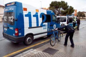 Accidente de ciclista